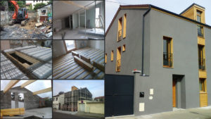 Steps for the design and construction of a house